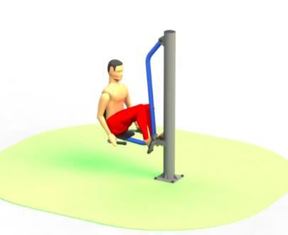 Apart fitness de exterior ESFMS73.1