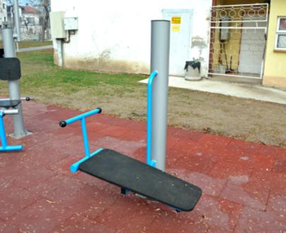 Apart fitness de exterior banca de exercitii ESFMS06