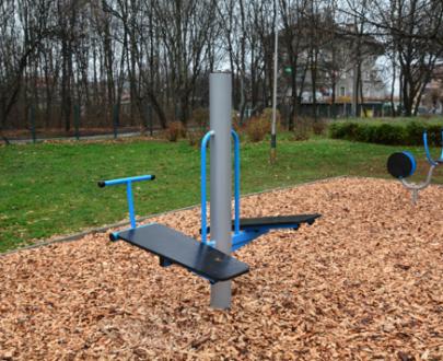 Apart fitness de exterior banca dubla de exercitii ESFMS28