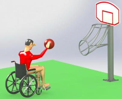 Apart fitness de exterior pentru persoane cu dizabilitati ESFMS18