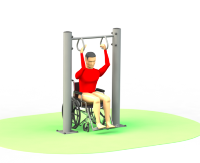 Apart fitness de exterior pentru persoane cu dizabilitati ESFMS67