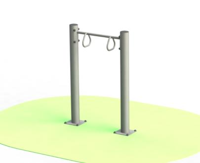 Apart fitness de exterior pentru persoane cu dizabilitati ESFMS67.1