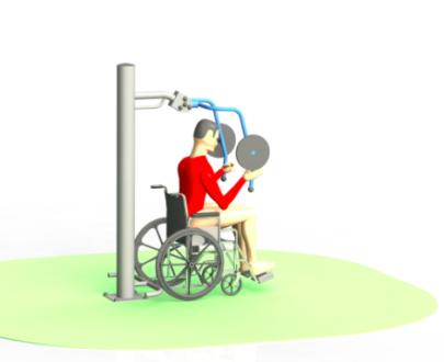 Apart fitness de exterior pentru persoane cu dizabilitati ESFMS69