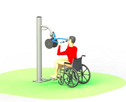 Apart fitness de exterior pentru persoane cu dizabilitati ESFMS70