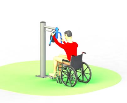 Apart fitness de exterior pentru persoane cu dizabilitati ESFMS71