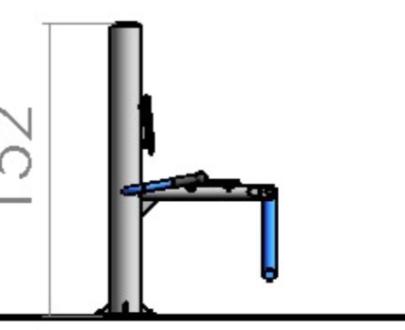 Apart fitness de exterior pentru picioare ESFMS12.1