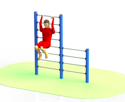 Apart fitness de exterior spaliere ESFMS60.1