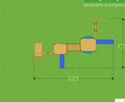 Complex de joaca Mega 1 1.1