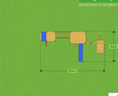 Complex de joaca Mega 4 1.1