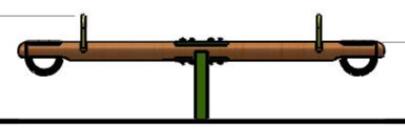 Balansoar doua locuri 1.1 1