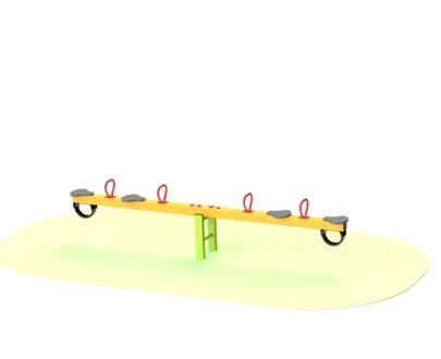 Balansoar patru locuri din metal 1.0