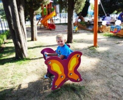 Balansoar pe arc Fluture 1.0