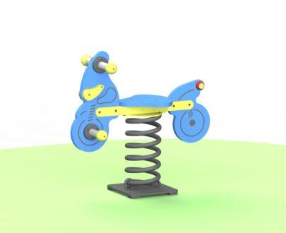 Balansoar pe arc Motocicleta 1.0