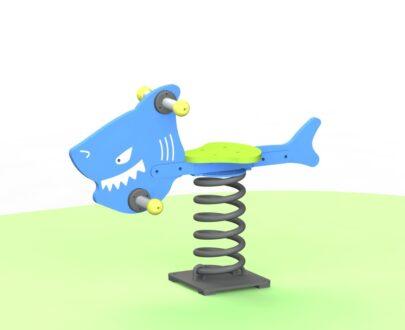 Balansoar pe arc Rechin 1.0