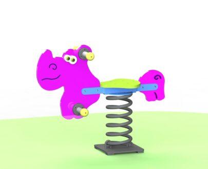 Balansoar pe arc Rinocer 1.0