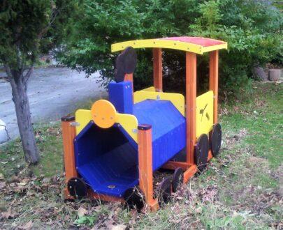 Echipament de joaca Locomotiva 1.0