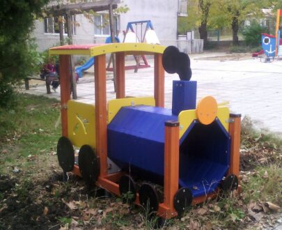 Echipament de joaca Locomotiva 1.1