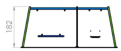 Leagan cuib si scaun standard 1.1