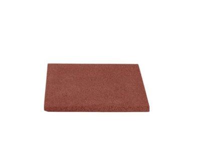 Dale de cauciuc 40x40 cm rosu