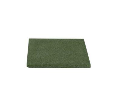 Dale de cauciuc 40x40 cm verde