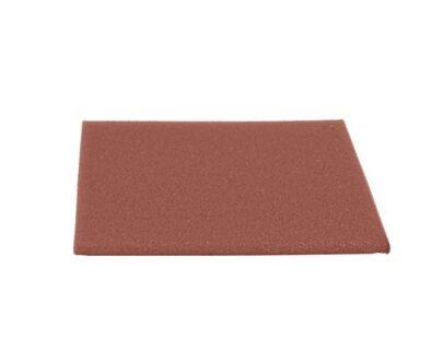 Dale de cauciuc 50x50x2 cm rosu 1.0